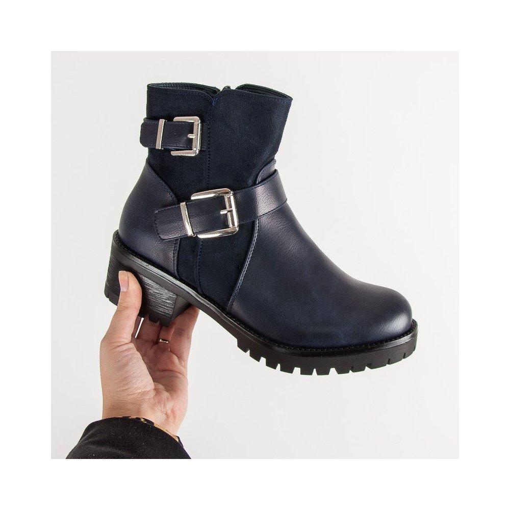 8ee6f3289b55 Tmavomodré topánky na platforme - RIOtopánky.sk