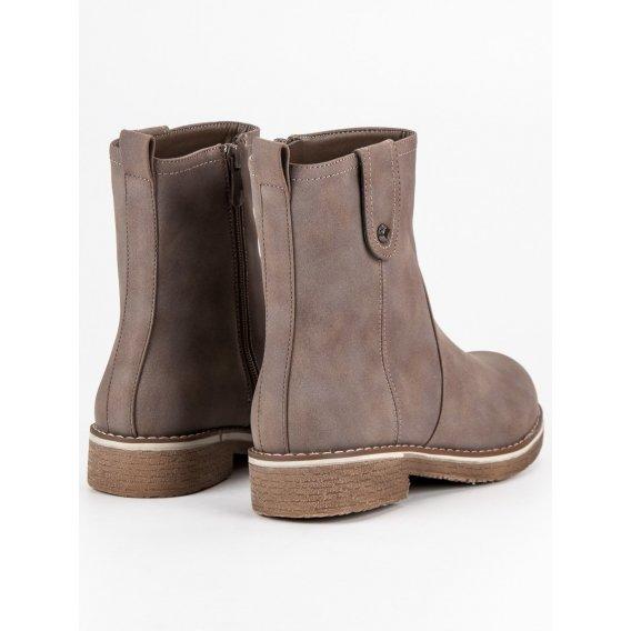 Pohodlné topánky na plochom podpätku