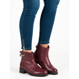 Neformálne bordové topánky