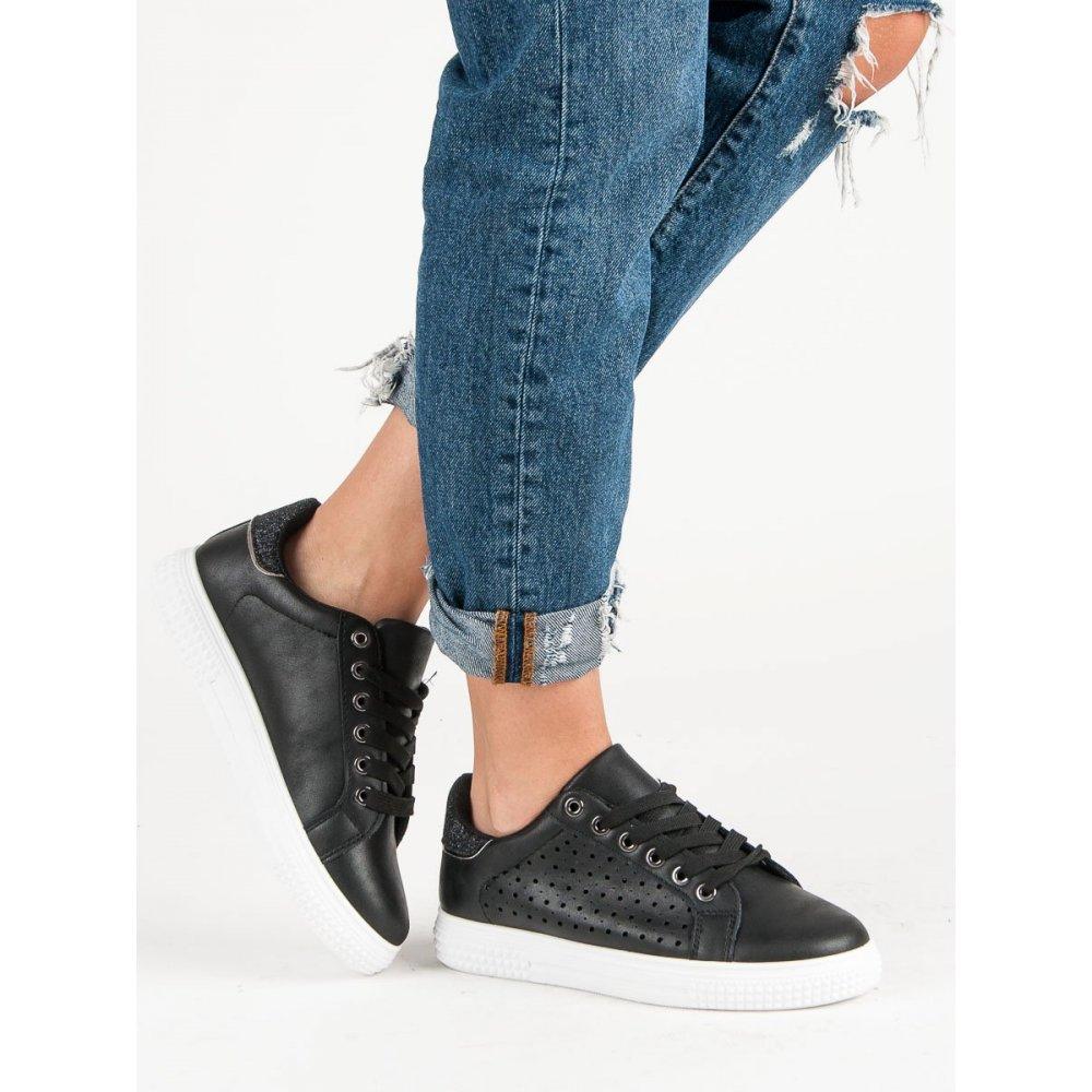 Čierne športové topánky - RIOtopánky.sk 8131389de1e