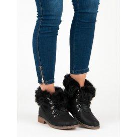 Topánky s kožúškom