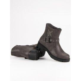 Rockové topánky na platforme