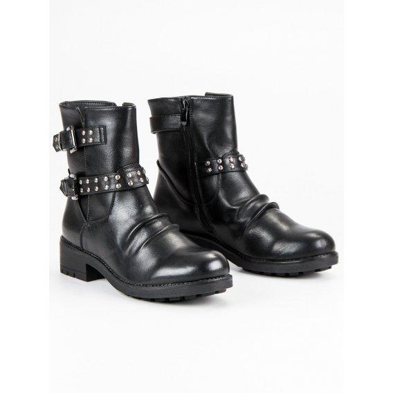 Módne rockové topánky