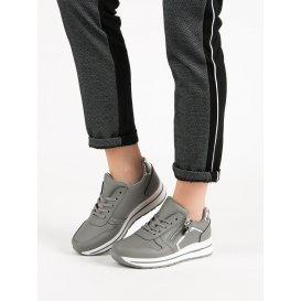 Šedé športové topánky