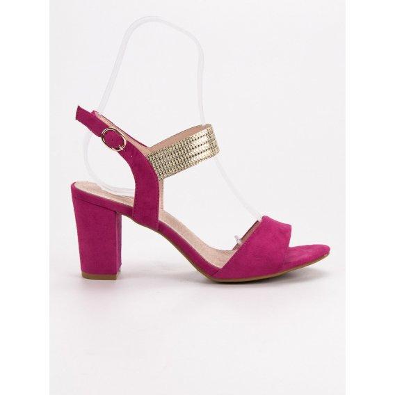Elegantné sandále na stĺpci