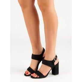 Čierne sandále Vinceza