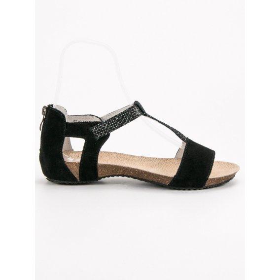 Kožené sandále Vincezsa