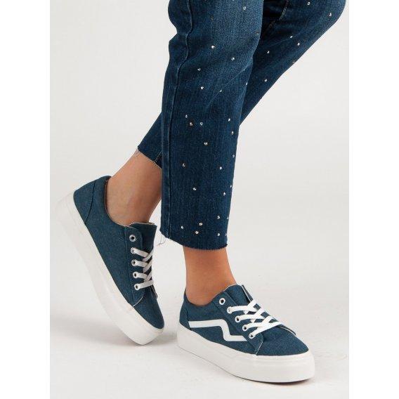 Módne tenisky Jeans