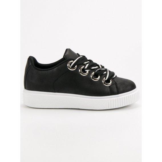Športové topánky s brokátom
