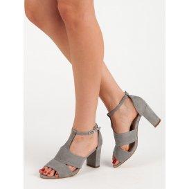 Šedé sandále Vinceza
