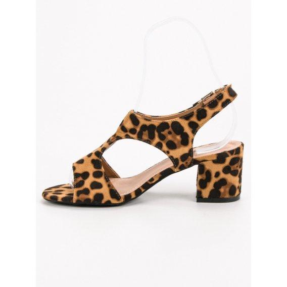 Semišové sandále