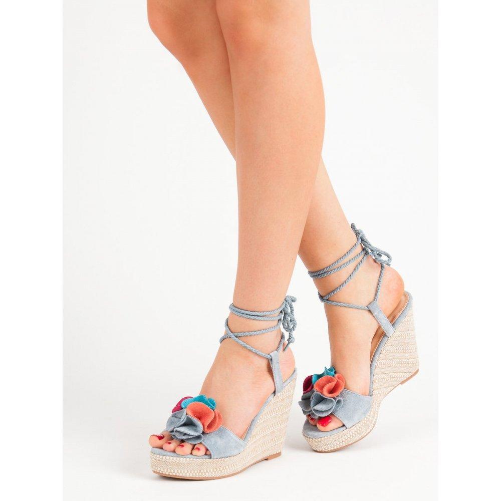 87a46259875e2 Viazané sandále na kline - RIOtopánky.sk