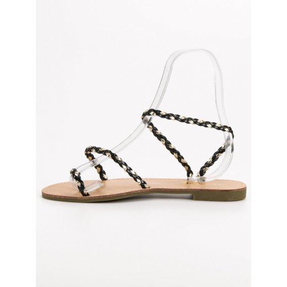 Nazúvacie dámske sandále