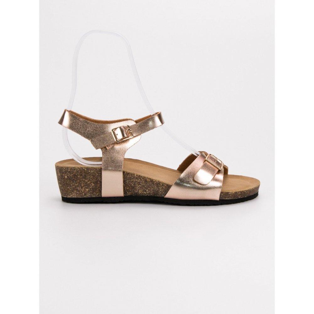 28f69535692a Klasické sandále na kline - RIOtopánky.sk