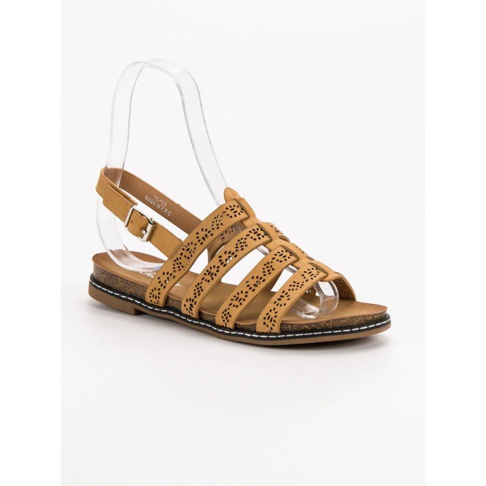 6fecc0b6d26a Pohodlné hnedé sandále - RIOtopánky.sk
