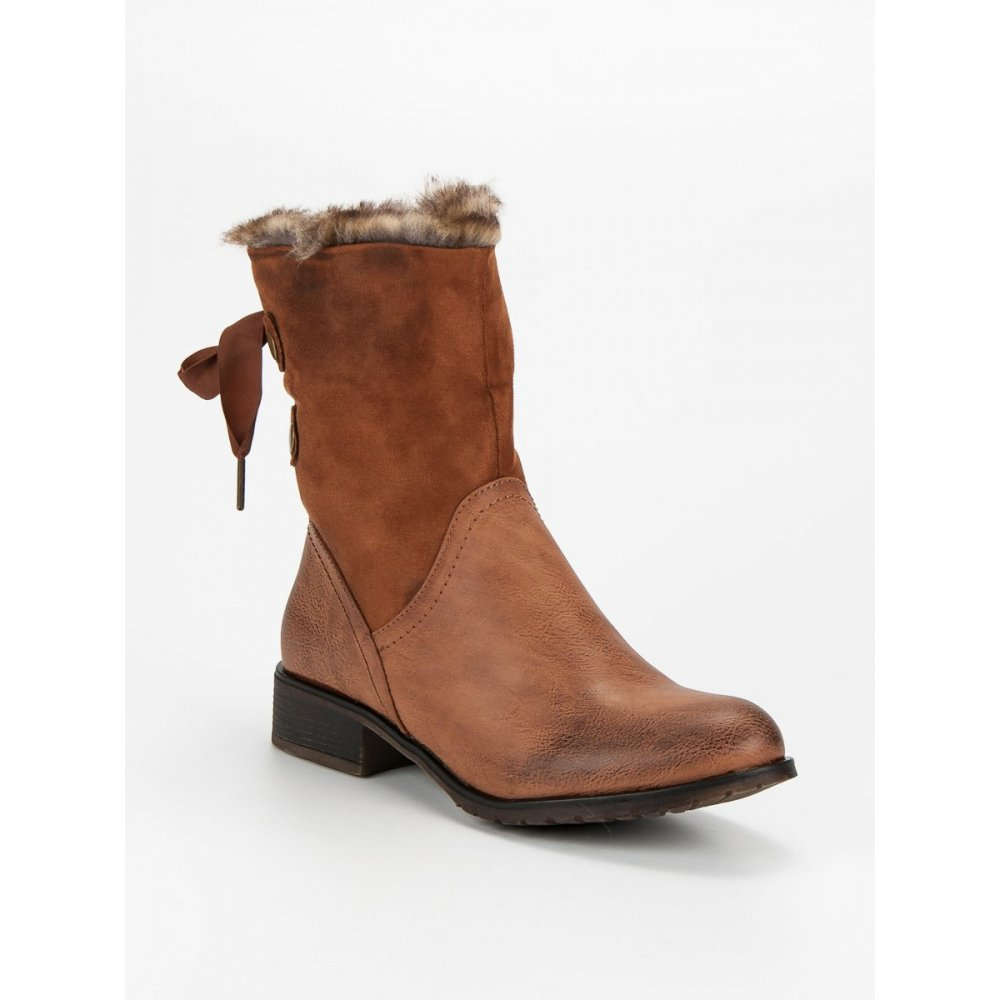 8ba60ac733 Hnedé topánky s mašľou - RIOtopánky.sk