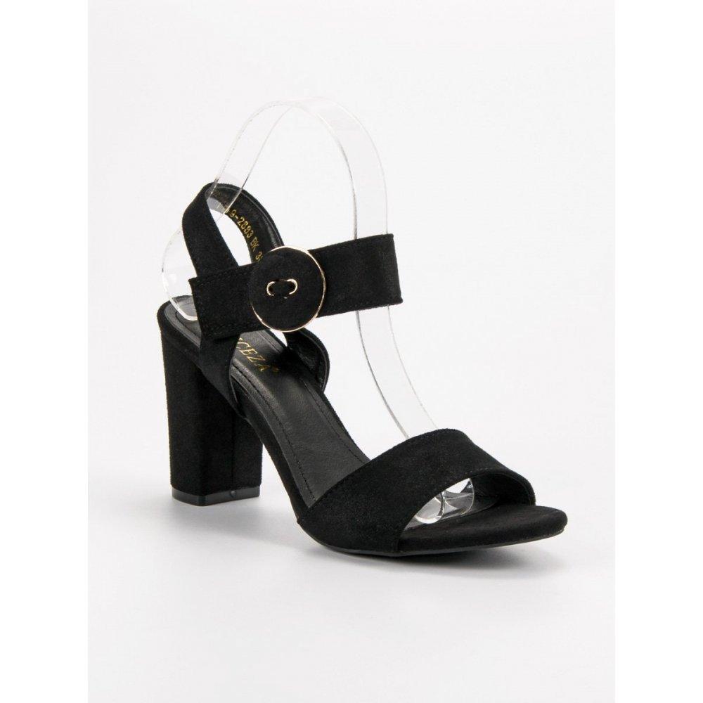 2c72ada0686f Čierne sandále na stĺpci Vinceza - RIOtopánky.sk