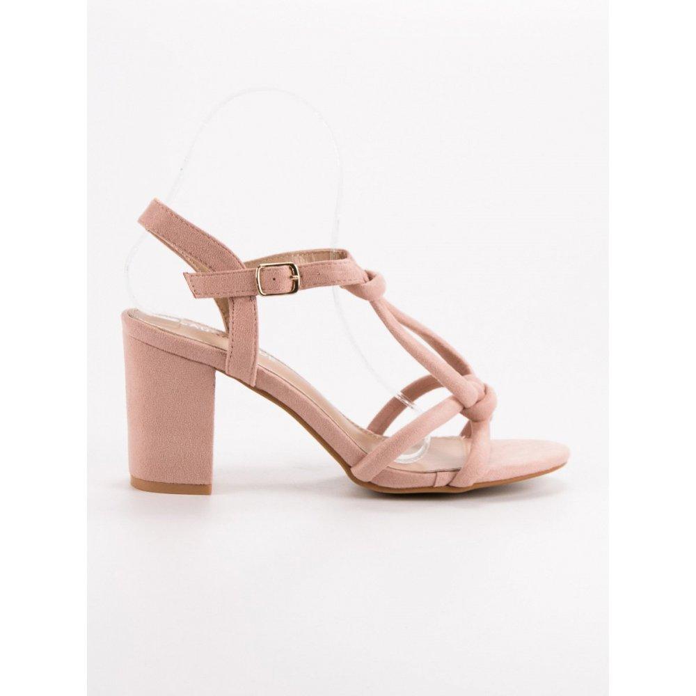 eae1e01f2899 Elegantné sandále na stĺpci - RIOtopánky.sk