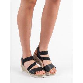 Nazúvacie sandále na kline
