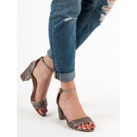 Sandále Vices s hadím vzorom