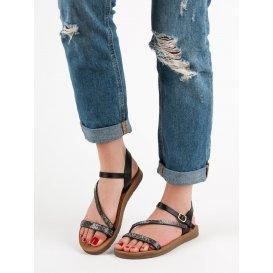 Sandále s krštálmi