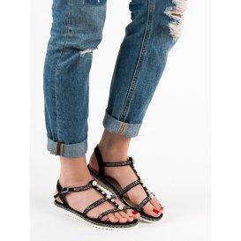 Sandále s perličkami