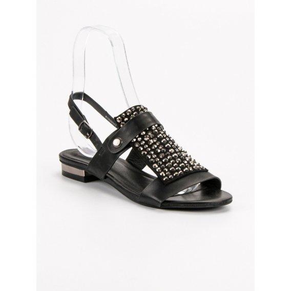 Čierne dámske topánky