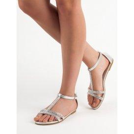 Ploché sandále