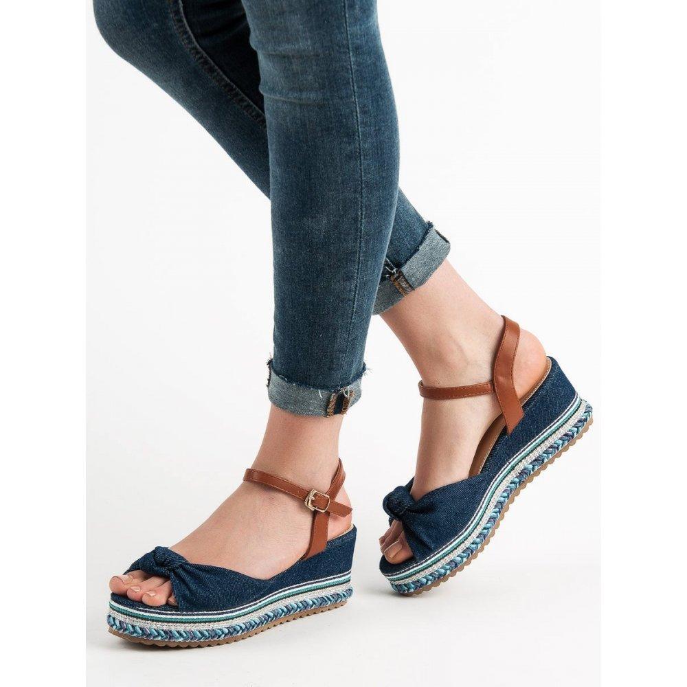 3d5b9a3364e1 Džínsové sandále - RIOtopánky.sk