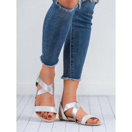 Nazúvacie sandále s gumičkou