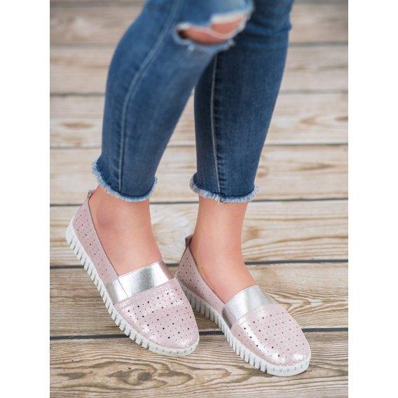 Nazúvacie topánky s broka´tom