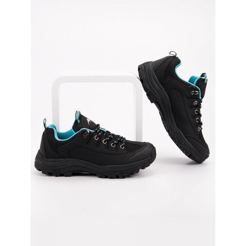 b634d0f202c46 Čierne trekové topánky - RIOtopánky.sk