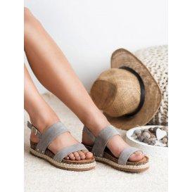 Sandále s brokátom