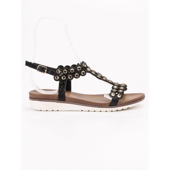 Sandále s ozdobami