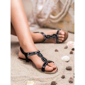 Zdobené sandálky