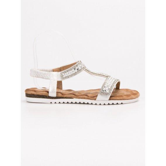 Dámske zdobené sandále
