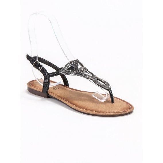Ploché dámske sandále