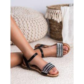 Sandále s kamienkami