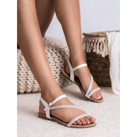 Klasické sandále s kamienkami