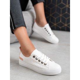 Biele topánky McKeylor