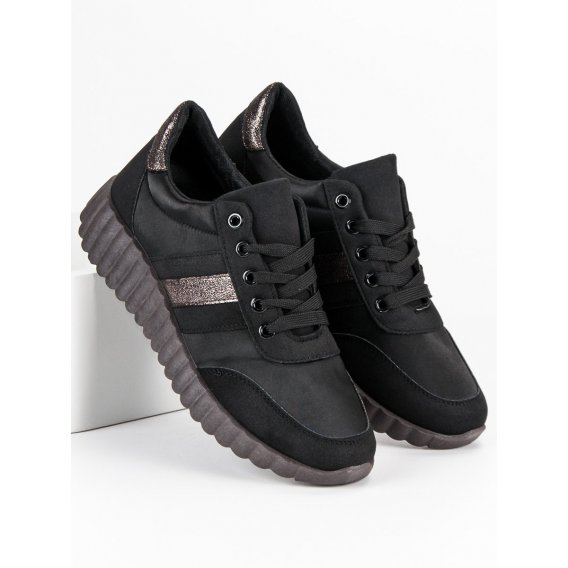 Čierne tenisky Fashion K1850102NE