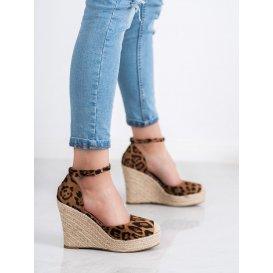 Topánky kline s leopardím vzorom