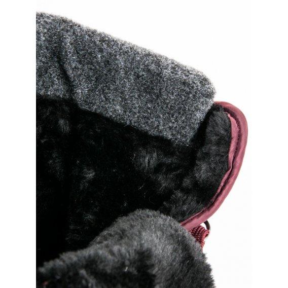 Módne bordové snehule ANN19-14406BOR