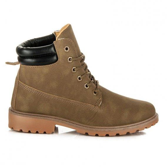 Dámske členkové topánky Trapery BL81L.GR