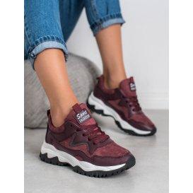 Športové topánky bordové