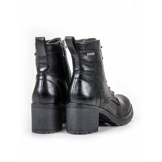 Čierne šnurovacie topánky Vinceza