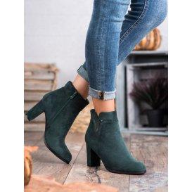 Semišové topánky na stĺpco