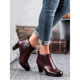 Nízke topánky na podpätku