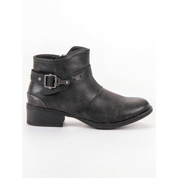 Topánky s ozdobnou sponou