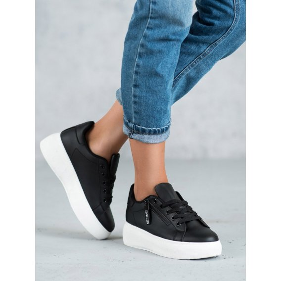 Šnurovacie topánky na platforme